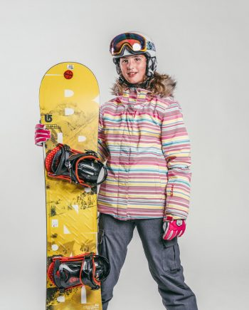 Children snowboard lessons