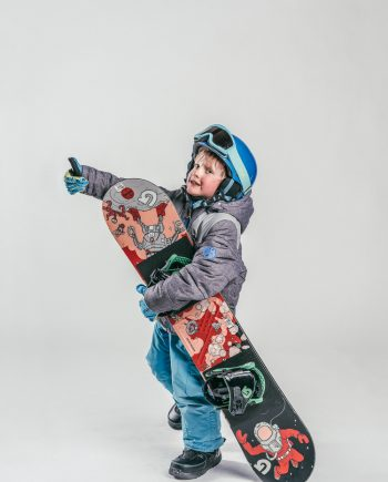 Snowboarding for kids
